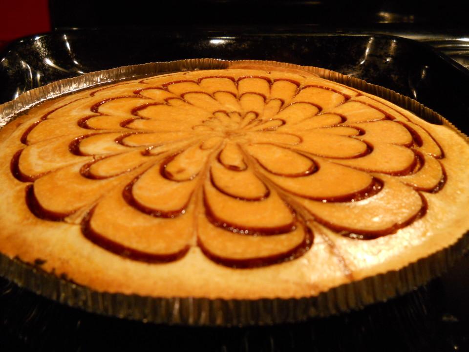 Oreo Pumpkin SpiderWeb Cheesecake